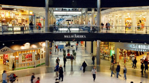 The mall of the future will be a place to do things, not just buy things