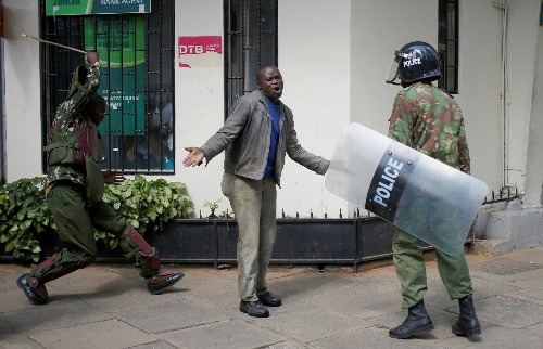 Kenyan police are routinely executing citizens and the public is finally saying stop