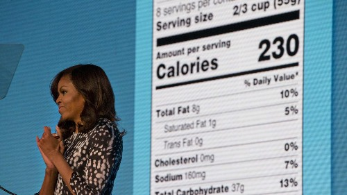 """With an updated Nutrition Facts label, the FDA settles an eternal question: """"Why Helvetica?"""""""