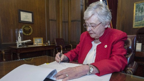 Alabama abortion law, Kay Ivey, and the white women for Trump