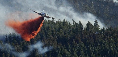 Firefighters are getting increasingly frustrated with drones