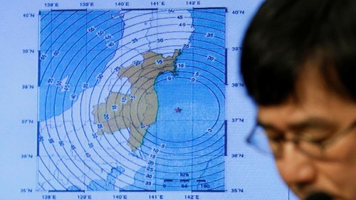 The latest earthquake in Japan was an aftershock of the one five years ago