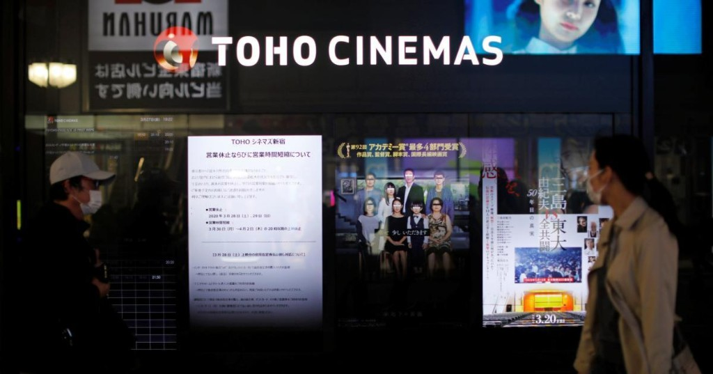 While Hollywood idles, Japan's box office is now breaking records