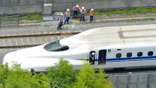 A passenger set himself on fire on a Japanese bullet train, causing two deaths and more than 20 injuries