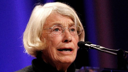 What poet Mary Oliver can teach us about dealing with criticism
