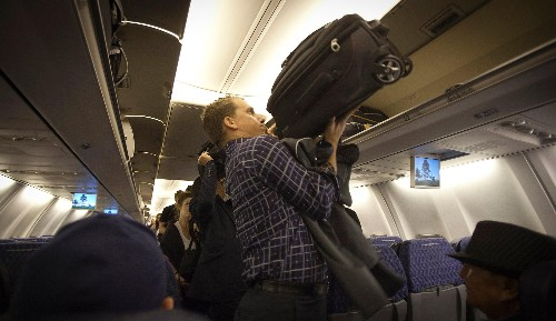 The airline industry wants your carry-on to be 40% smaller