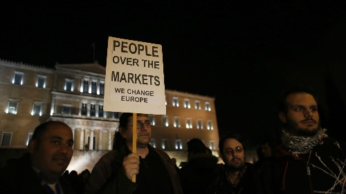 I'm Italian, and I thank Greece for reminding us what Europe is supposed to be