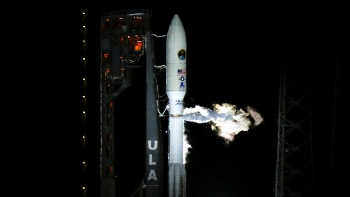 ULA's Atlas V rocket launches Air Force satellite into space