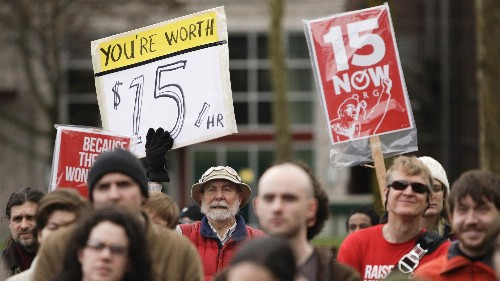 Seattle's minimum-wage increase made the most vulnerable workers poorer