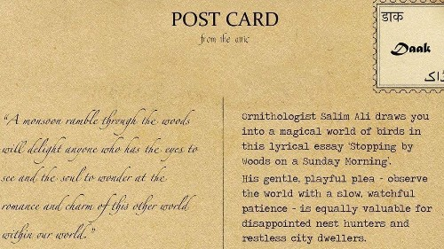 Two women are reviving India's forgotten poetry, one postcard at a time