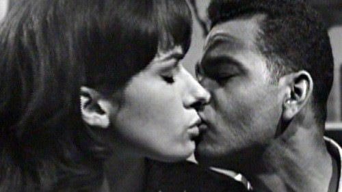 The world's first interracial kiss on TV has been rediscovered