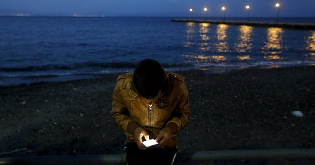 The most crucial item that migrants and refugees carry is a smartphone