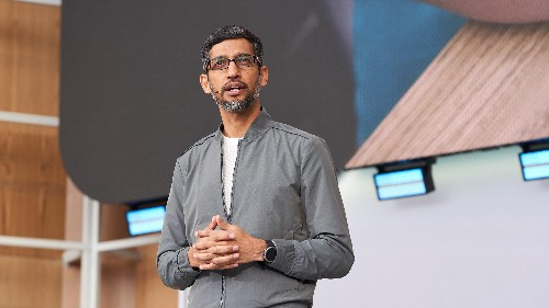 Google co-founders Larry Page and Sergey Brin step down
