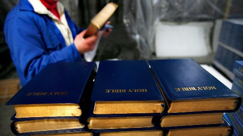 China says it protects religious freedom, but the Bible is disappearing from online bookstores
