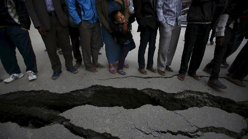 Two days of earthquakes have set Nepal's economy back by more than a decade