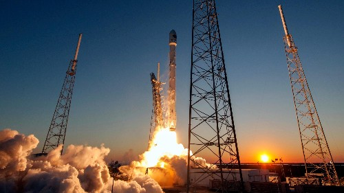 SpaceX takes its first step toward selling Americans internet from space