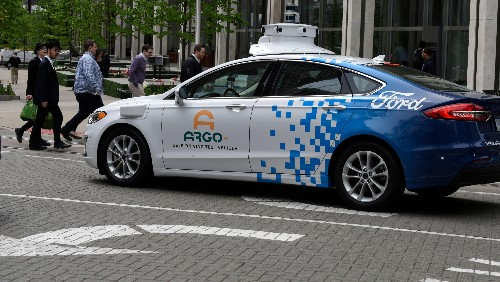 Ford and Volkswagen team up to buy Argo's self-driving tech