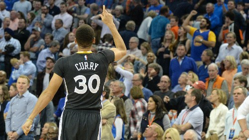 """An MIT physicist analyzes Stephen Curry's """"impossible"""" game-winning three-point shot"""