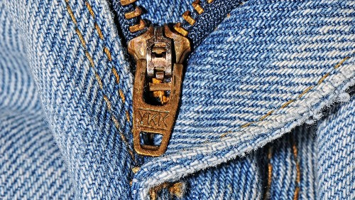 A brief history of the humble zipper, from Levi's to YKK