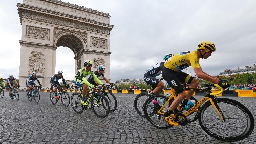 Thermal imaging cameras will be used to detect mechanical doping at Tour De France