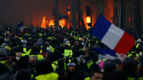 French history has never seen a protest like the yellow vest movement