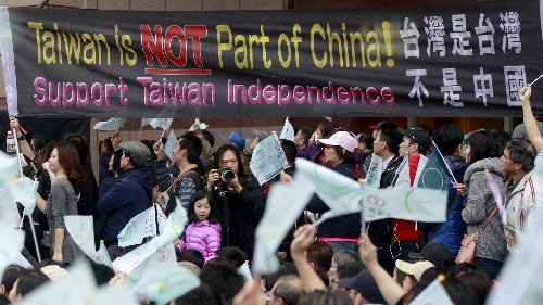 An army of Chinese trolls has jumped the Great Firewall to attack Taiwanese independence on Facebook