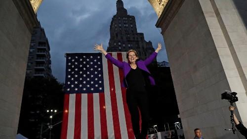 Elizabeth Warren's huge New York rally was a tribute to garment workers
