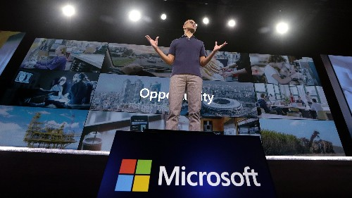 Microsoft crushed its earnings expectations, thanks to the cloud