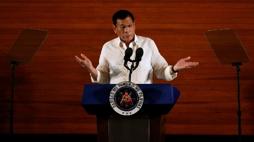 Rodrigo Duterte, the Philippines' foul-mouthed president, is frightening away foreign investors
