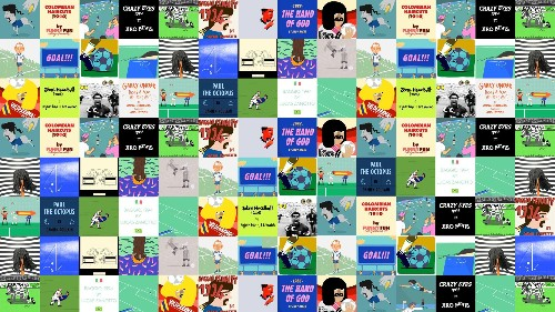 The World Cup's greatest moments in five-second animations