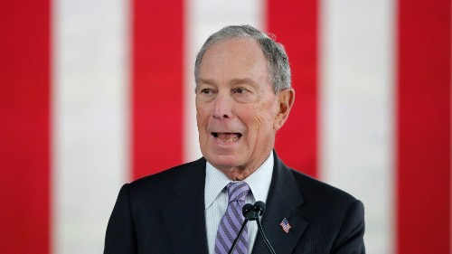 Bloomberg is running the billionaire vote-buying campaign we expected from Trump
