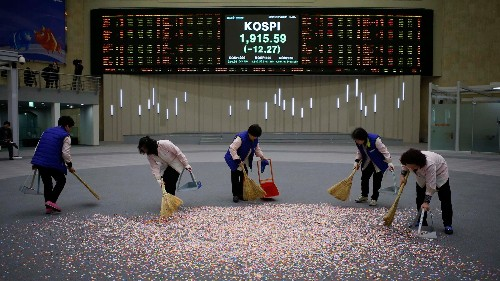 South Korea's ugly sell-off capped an awful week for Asian stocks