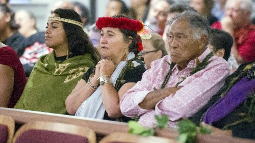 Native Hawaiians score a victory in the fight to stop a telescope being built on sacred land