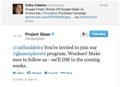 """Google starts notifying the first """"winners"""" of the right to buy Google Glass for $1,500"""