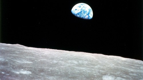 Earth's gravitational pull is reshaping the surface of the  moon