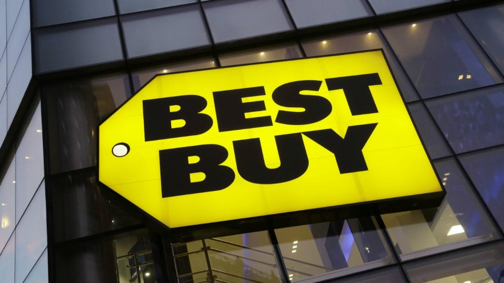 Best Buy's stock price is dropping as fast as its sales