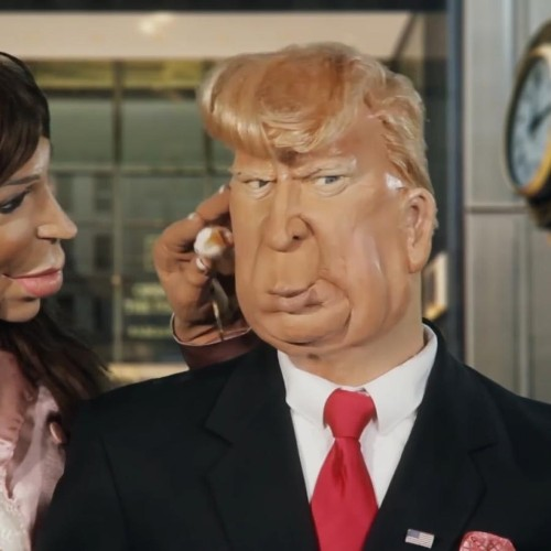 Watch satire of Donald Trump around the world