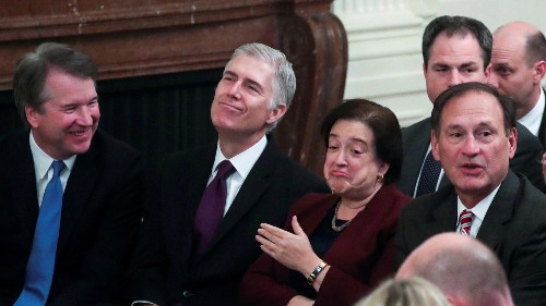 SCOTUS justices' impartiality questioned after unseemly meeting
