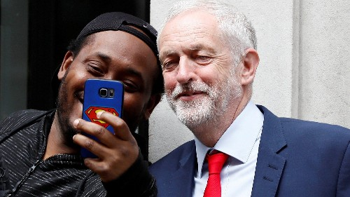 How a belittled, 68-year-old British socialist did the impossible: Get the youth to vote