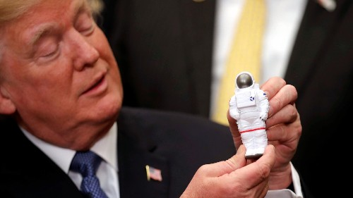 Donald Trump wants to shut down the International Space Station and get ready for private space