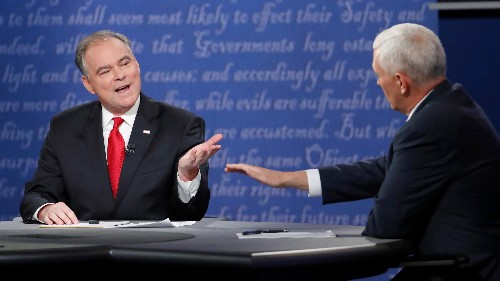 In retrospect, Tim Kaine's debate was a masterful lesson in campaign strategy