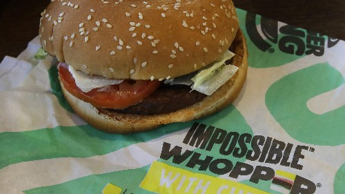 Impossible Foods ranks 4th among America's fastest growing brands