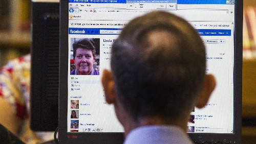 Use of Facebook among senior Americans has doubled over recent years