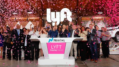 Lyft stock starts trading on the Nasdaq in $24 billion IPO
