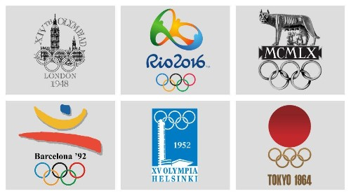 The best and worst Olympic logo designs through the ages, according to the man who created I ❤ NY