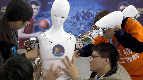Half of the top 10 employers of AI talent in China are American
