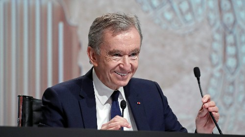 Bernard Arnault unseated Bill Gates as second richest person