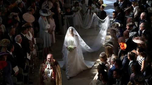 Britain's royal wedding: Meghan Markle's wedding veil was a symbolic masterpiece