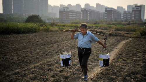 China just revealed a major state secret: nearly 20% of its farmland is polluted