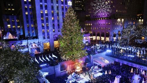 The strange, cool job of picking the Rockefeller Christmas tree